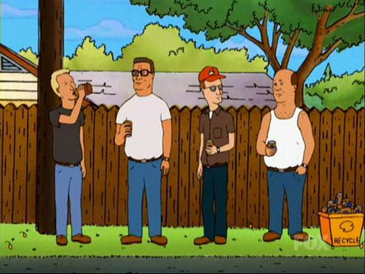 King of the Hill Back Alley Boys